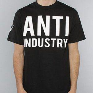 NWOT A$AP x Black Scale Clothing Anti Industry Tee